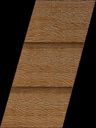 Diamond Kote® RigidStack™ Lap Siding - Chestnut - Duoblend Premium Collection