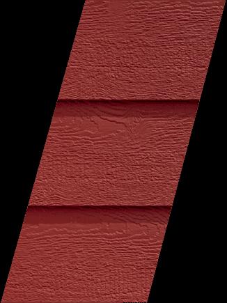 Diamond Kote® RigidStack™ Lap Siding - Cinnabar - Vivid Refresh Collection