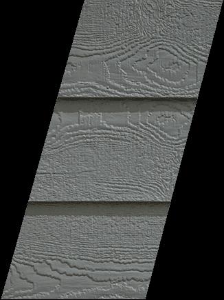 Diamond Kote® RigidStack™ Lap Siding - Smoky Ash - Vivid Refresh Collection