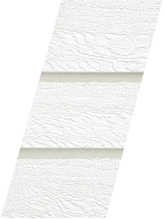 Diamond Kote® RigidStack™ Lap Siding - White - Traditional Charm Collection