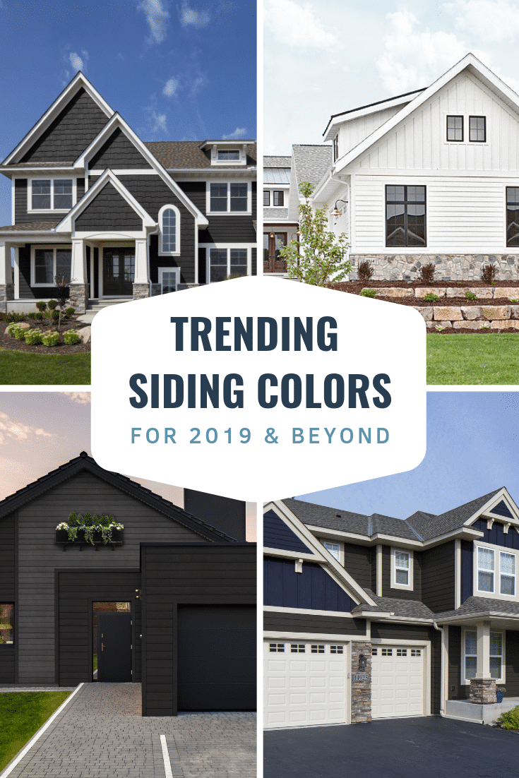 Building a new home or remodeling your current home? Find inspiration with these trending siding colors including blue siding, brown siding, black siding and white siding. Diamond Kote siding is built on LP SmartSide is backed by a 30-Year No Fade Warranty